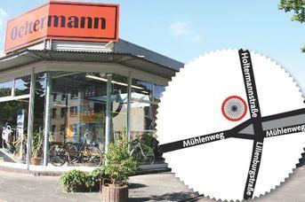 Fahrradvermieter Günter Oeltermann