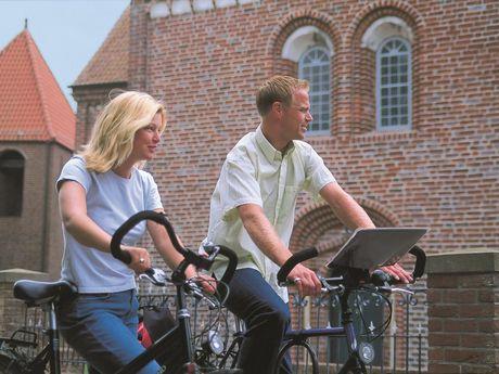 Radfahrer in Aurich
