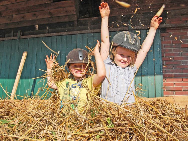 Spiel und Spaß auf dem Bauernhof