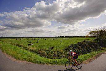 Von der Parklandschaft Ammerland in die Fehnlandschaft mit dem Rennrad