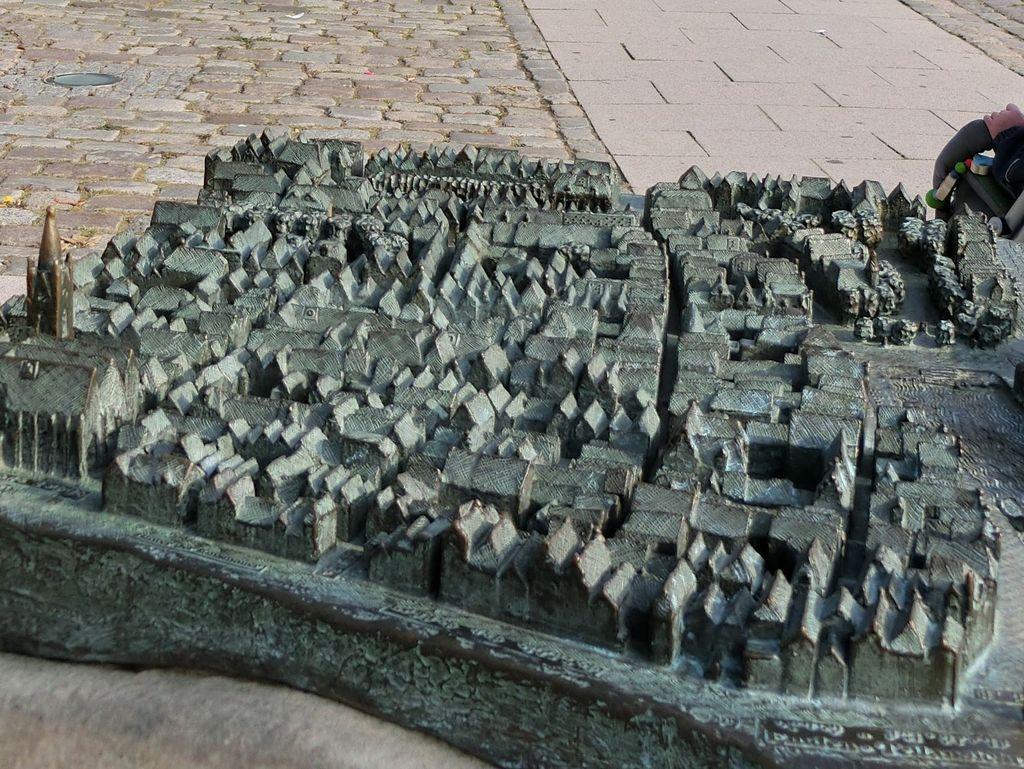 Tastmodell der Stadt Emden am Ratsdelft