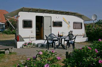 Reisemobilstellplatz auf dem Campingplatz Eiland