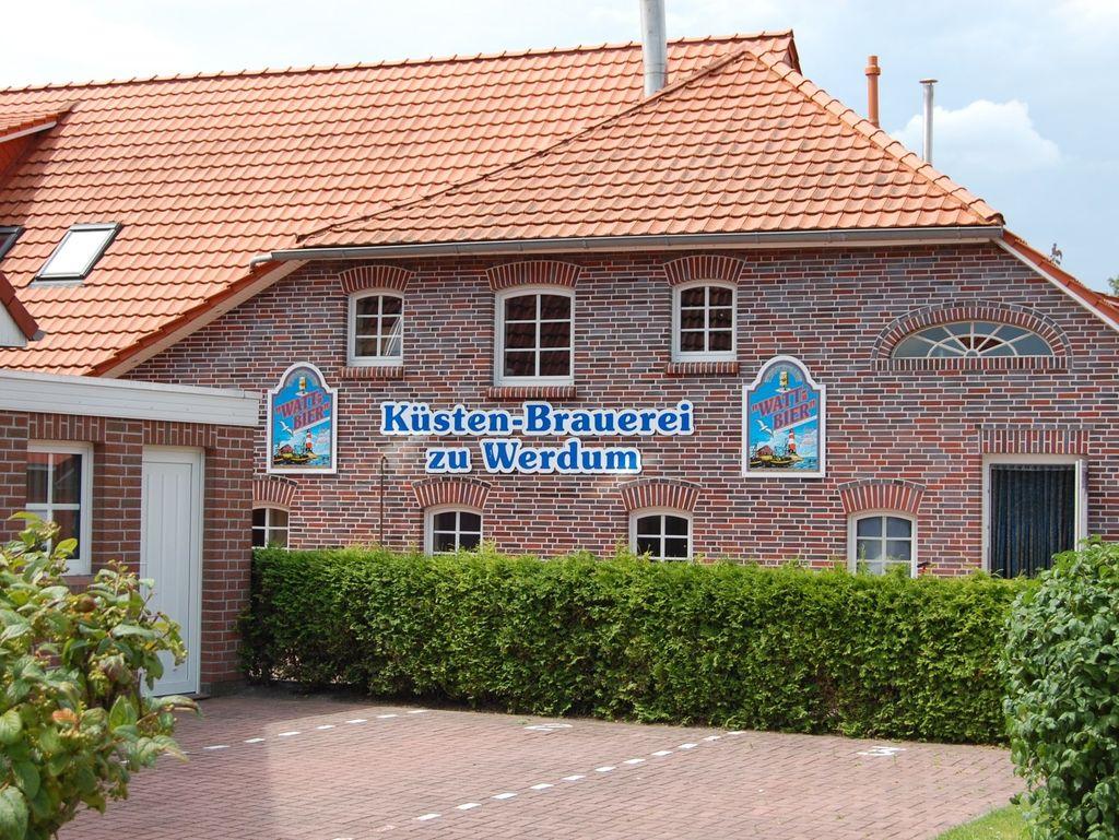 Gebäude der Küsten-Brauerei zu Werdum