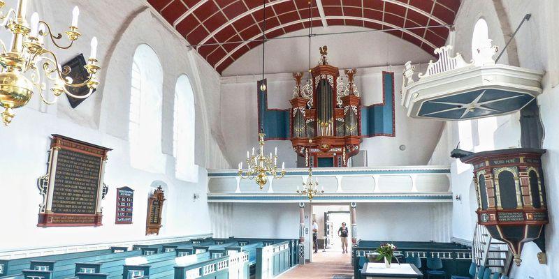 Krummhörner Orgeln im Sommer
