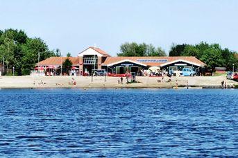 Paddel- und Pedalstation am Timmeler Meer