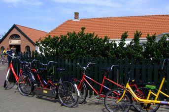 Fahrradverleih am Bahnhof
