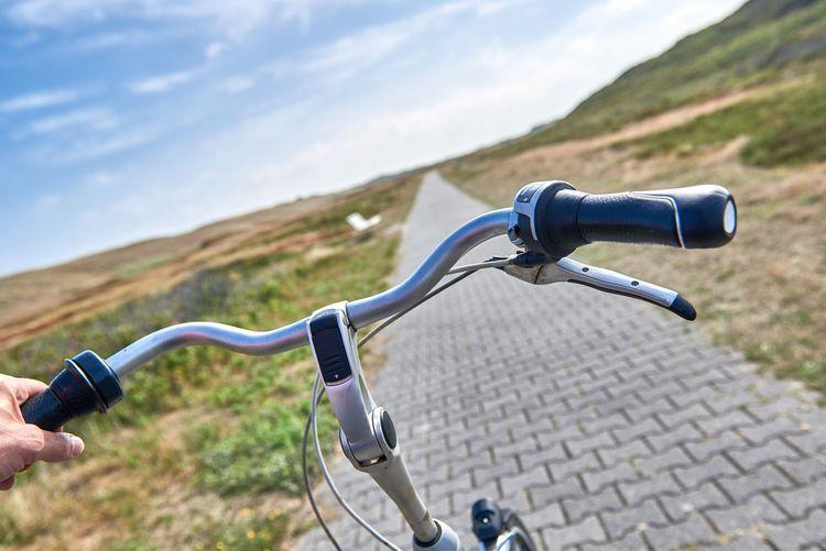 Fahrrad Tente auf Borkum