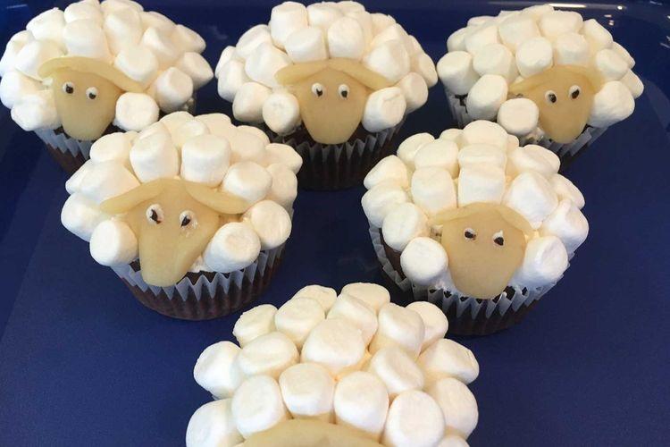 Cupcake-Schafe