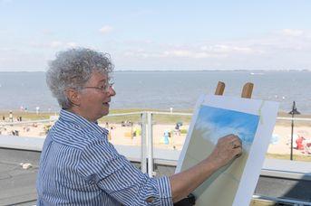 Pastellmalerei mit Irmgard Kung