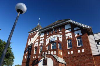Inselbahnhof und Tourist Information Wangerooge