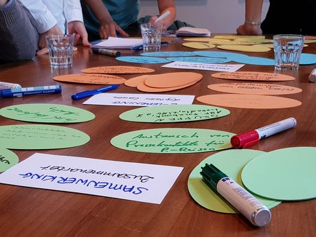 Projektkommunikation & Öffentlichkeitsarbeit