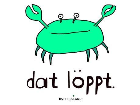 Krabbe grün