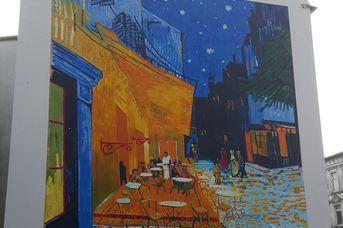 "Wandgemälde "" van Gogh"""