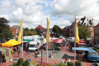 Wochenmarkt in Wittmund