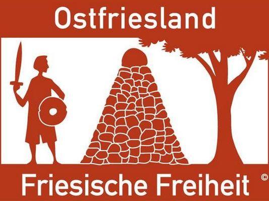 Das Schild der Ostfriesland Friesischen Freiheit