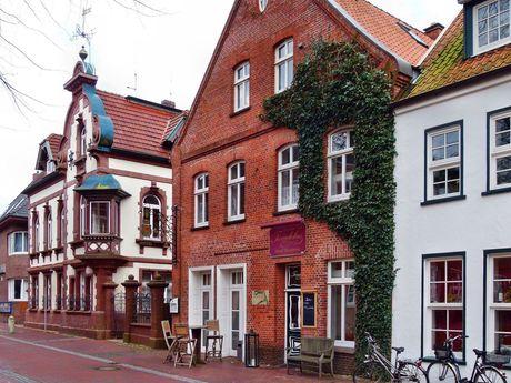 Gebäude in der Innenstadt von Aurich