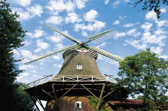 Radwandern mit dem Wind - Friesische Mühlentour