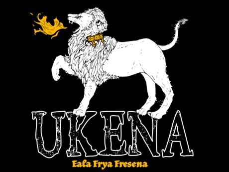 Grafik des Wappens der Ukena