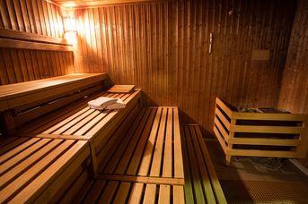 Sauna im Kurzentrum Hage