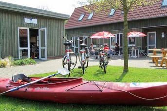 Paddel- und Pedal Station