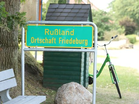 Rußland Ortschaft Friedeburg