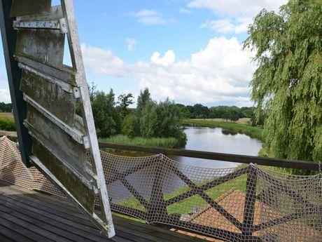 Blick von der Hengstforder Mühle auf das Aper Tief