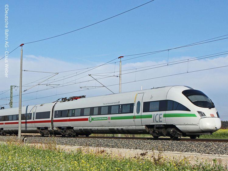ICE Deutsche Bahn (Fotonachweis: Deutsche Bahn AG - Claus Weber)
