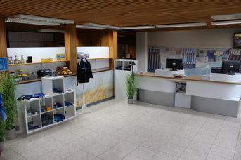 Tourist-Info und ServiceCenter Obere Strandpromenade