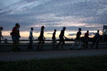 Von Wilhelmshaven nach Dangast