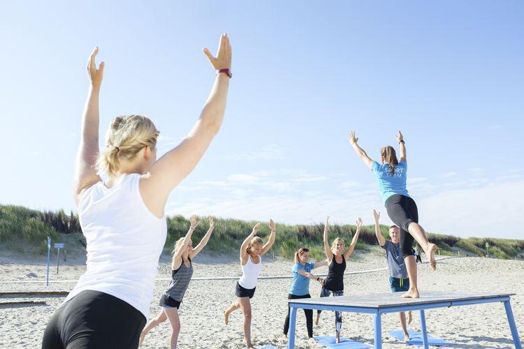 Das Sportprogramm auf Langeoog