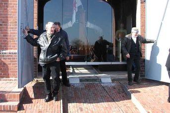 Kultur am Meer: Die Rettungsstation an der Friedrichsschleuse