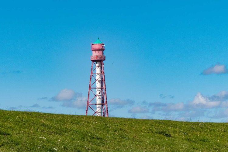 Der Campener Leuchtturm