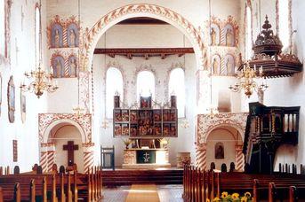 St. Florian-Kirche und Orgel