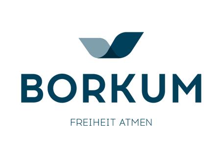 Grafik des Logos von Borkum