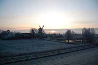 Winterliches Ostfriesland