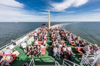 Anlegestelle Juist AG Reederei Norden-Frisia