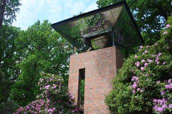 Landschaftsfenster Turm einer Rhodo-Königin