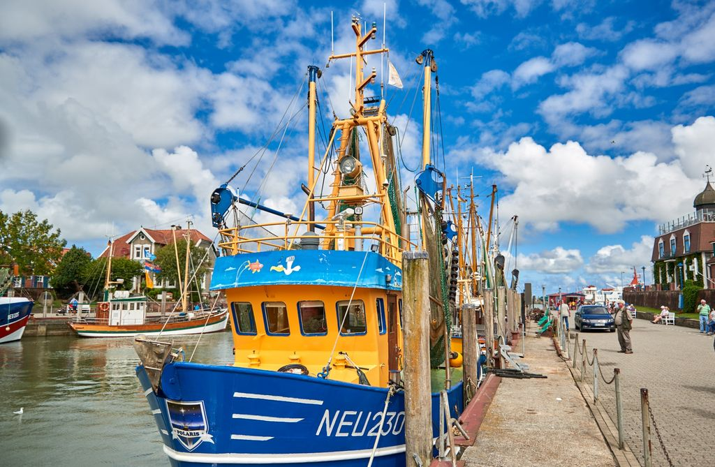 Nordsee-Neuharlingersiel-Krabben-Kutter