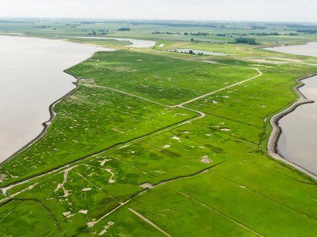 Luftbildpanoramen Nationalpark Wattenmeer