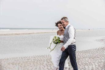 Heiraten am Strand von Juist
