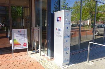 E-Bike Ladestation Energiegenossenschaft für Wittmund eG
