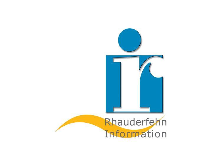 Grafik des Logos von der Information in Rhauderfehn