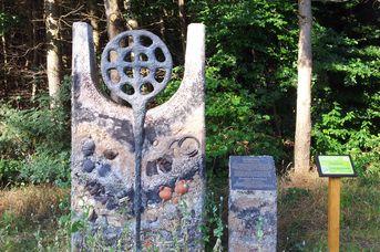 Hörstation Hügelgrab