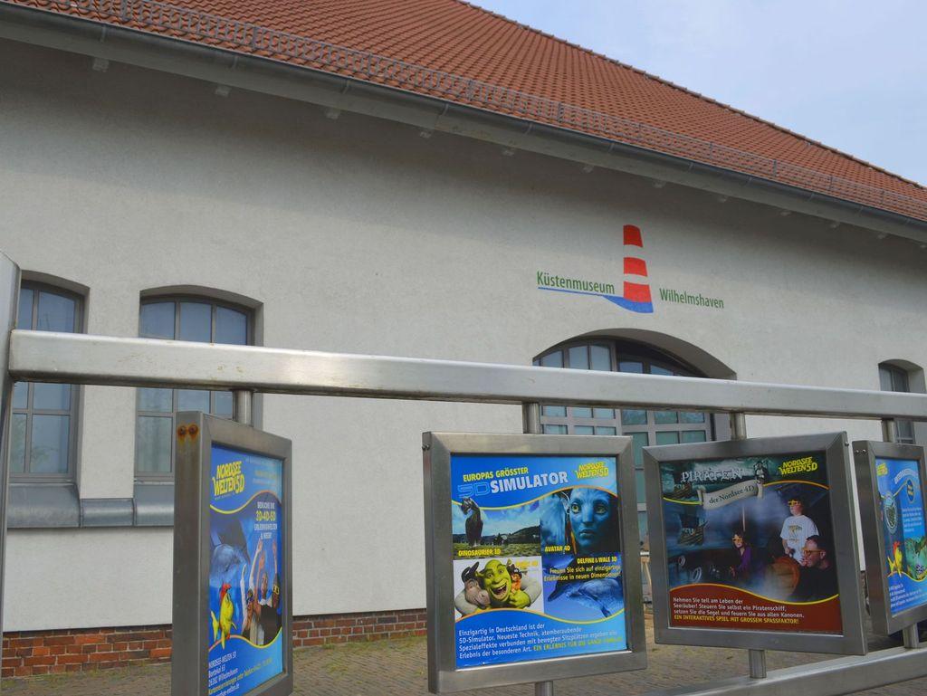 Gebäude des Küstenmuseums in Wilhelmshaven