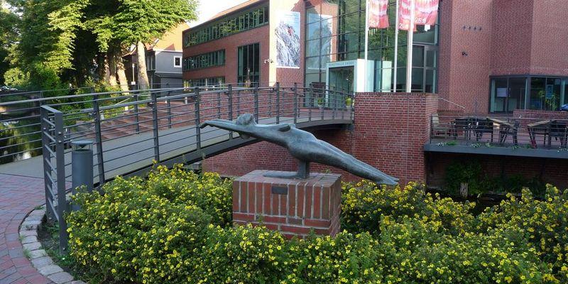 Außenansicht der Kunsthalle in Emden