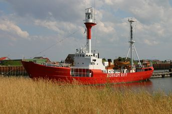 Nationalpark-Feuerschiff Borkumriff