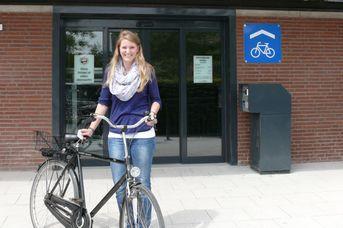 E-Bike Ladestation in der Tourist-Info am Bahnhof