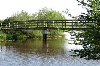 Radler Brücke in Holtgast