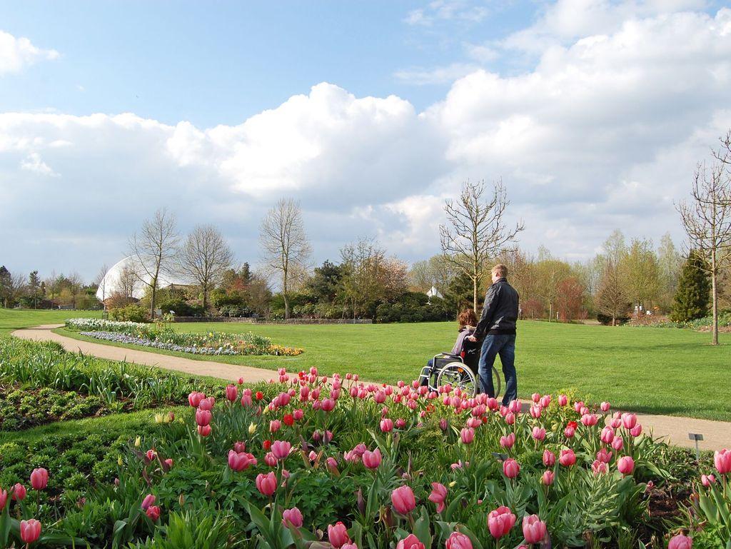 Barrierefrei: Park der Gärten in Bad Zwischenahn