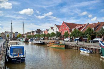 Watten-Route - 1. Etappe - von Bad Nieuweschanz nach Weener